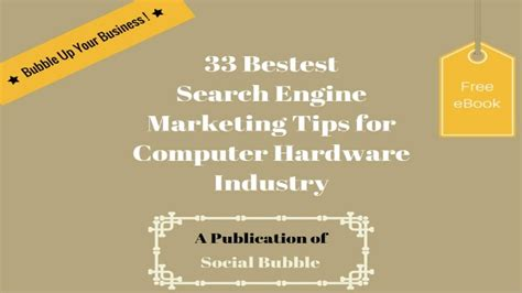 Search Engine Marketing Basics by 33 Bestest Search Engine Marketing Tips For Computer