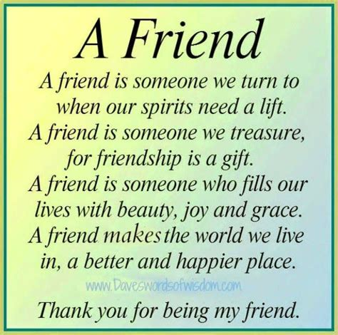 Best Friends Poems About Friendship