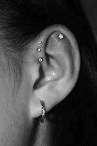 triple forward helix | pierce it | Pinterest