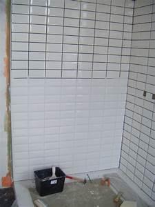 poser du carrelage metro sans joint With carrelage salle de bain sans joint