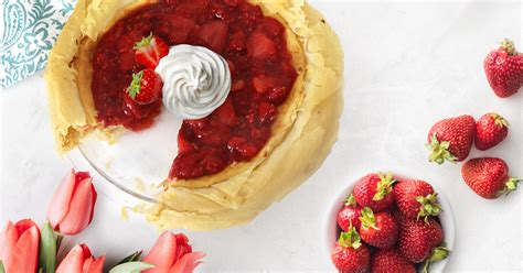 View top rated athens phyllo dough recipes with ratings and reviews. Athens Foods | Fruit-Topped Phyllo Cheesecake Recipe | Athens Foods