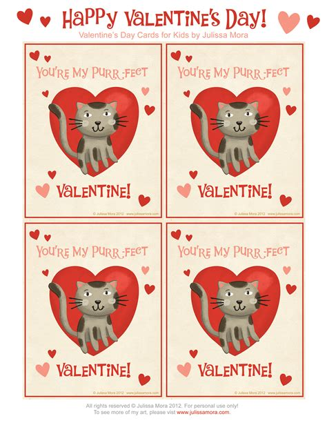 Julissa Mora Free Valentine's Day Cards For Kids