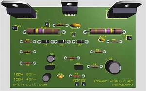 Layout Pcb Power Amplifier Blazer