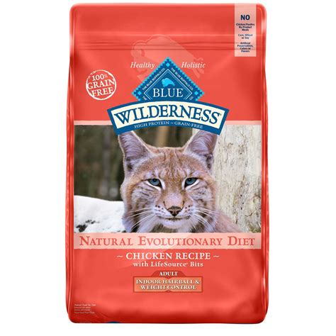 Blue Buffalo Blue Wilderness Adult Indoor Hairball