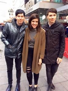 Dan Howell and Phil Lester Standing