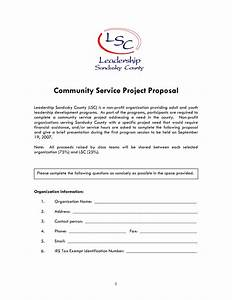 10 best images of non profit proposal template non With grant template for nonprofit