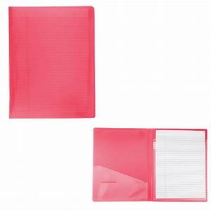 letter size writing pad folder with logo 4allpromos With letter size pad
