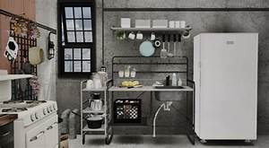 Sunnersta kitchen by marcussims91 conversion teh sims for Sims 3 interior design kitchen