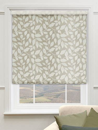 Decorative Window Shades by Blinds Premier Decorative Roller Shades In Bombay Sand