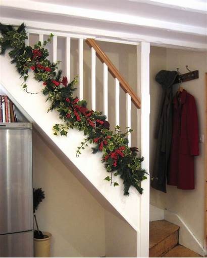 Christmas Staircase Decorations Decoration
