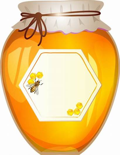 Honey Clipart Jar Clip Bee Kitchen Jars