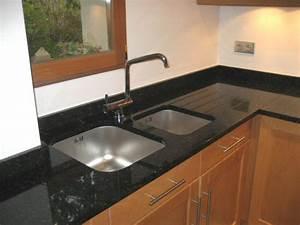 Plan De Travail Cuisine Granit : plan de travail sur mesure granit cuisine naturelle ~ Dallasstarsshop.com Idées de Décoration