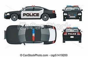 Voiture Vu De Haut : click c t emblems police illustration arri re clipart vectoriel rechercher ~ Medecine-chirurgie-esthetiques.com Avis de Voitures
