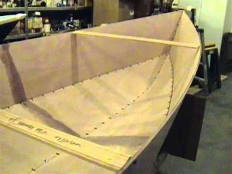 tango skiff xl stitch  glue okoume wooden boat youtube
