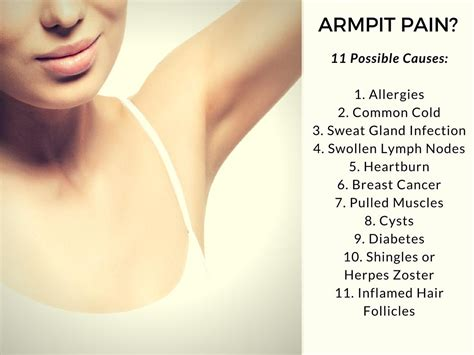 Armpit Pain Causes And Treatment