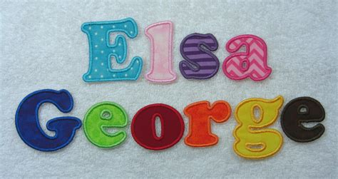 iron on embroidered letters iron on letters 2 1 1 2 fabric embroidered iron
