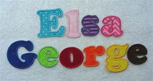 iron on letters 2 1 1 2 fabric embroidered iron With iron on fabric letters
