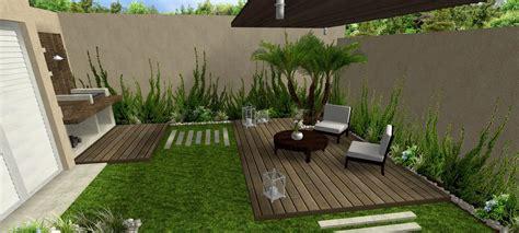ideas grandes  jardines pequenos disenos de