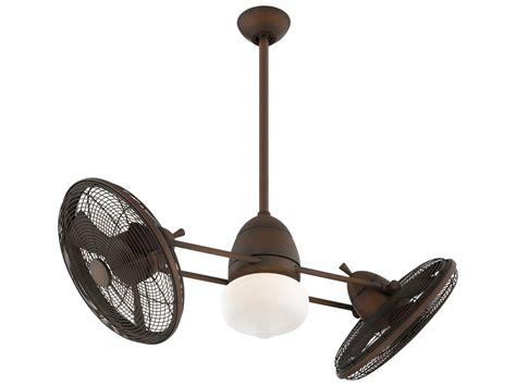 Gyro Ceiling Fan By Minka Aire by Minka Aire Gyro Restoration Bronze 42 Wide Indoor
