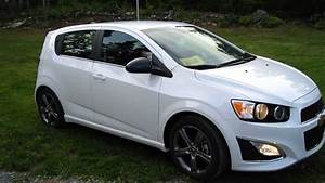 2013 Chevrolet Sonic Rs Turbo Summit White Manual 6spd