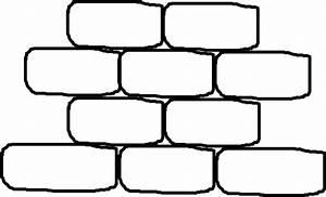 Brick Wall With No Words Clip Art at Clker.com - vector ...