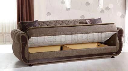 argos terapy sofa bed storage  light brown  sunset