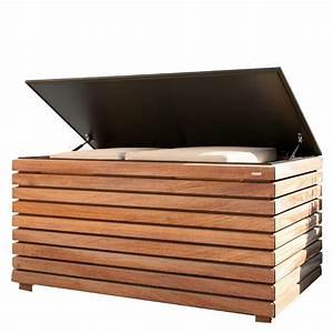 Garten Kiste Holz : conmoto kissentruhe forte kambala holz 64x130x72 ~ Whattoseeinmadrid.com Haus und Dekorationen