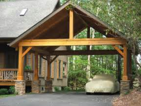 Image of: Wood Carport Native Home Garden Design Considerations On Choosing The Safest Carport Designs