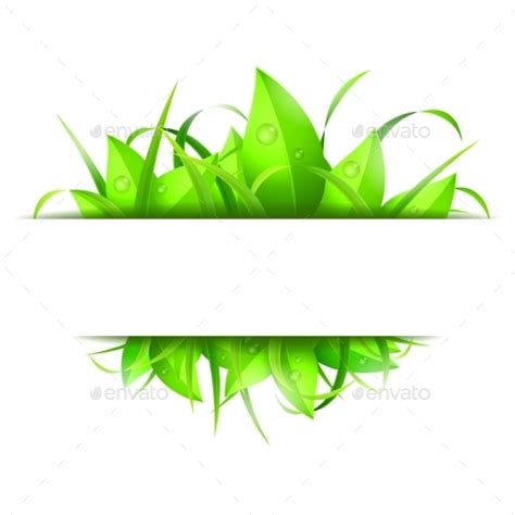 Green Grass And Leaves Banner By Timurock  Graphicriver. Clear Motorcycle Gas Decals. New England Patriots Banners. Sticker Cost. Cement Murals. Ria Novosti Signs. Protest Signs. Interior Design Murals. Two Decals