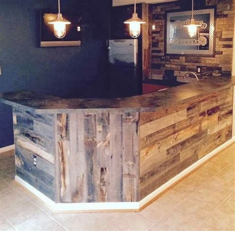 Wooden Home Bar by Beautiful Bar Would To Do This When We Finish Out