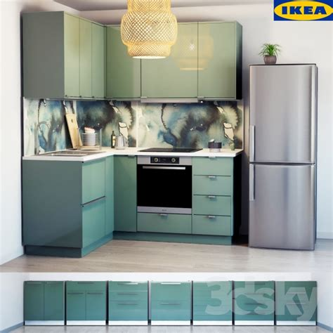 ikea cuisine 3 d 3d models kitchen ikea kitchen kallarp