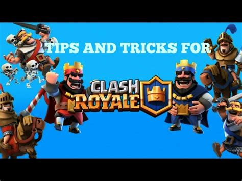 tips and tricks for clash royale ep 1