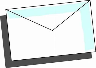 Envelope Clip Mail Clipart Envelop Svg Vector