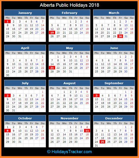 alberta canada public holidays  holidays tracker