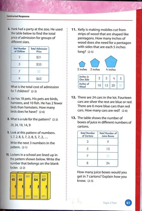 12 best images about envision 4th grade math on