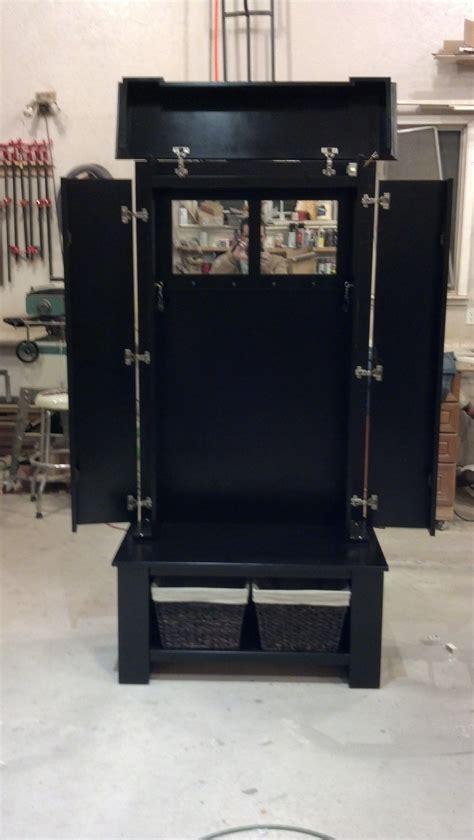 bench coat rack nj concealment furniture coat rack