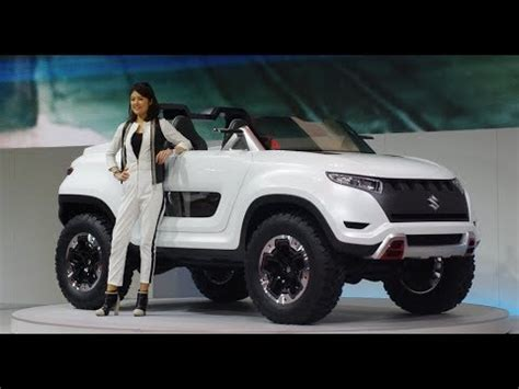 Upcoming Maruti Suzuki Cars At Auto Expo 2018 Youtube