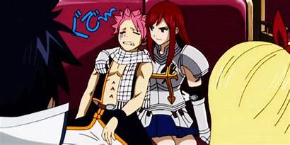 Fairy Tail Anime Erza Natsu Gifs Fanpop