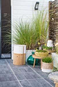 decoration exterieur terrasse With deco de terrasse exterieur 11 cuisine delinia noir