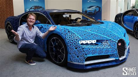Behold, the biggest toy car on earth: They Made a Bugatti Chiron in FULL SIZE WORKING LEGO!   Driiive TV /// Find the best car TV ...