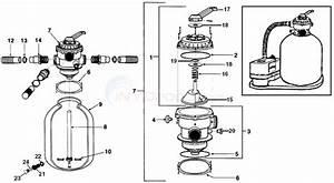 Muskin Sand Filter System -- Model Fs683b Parts