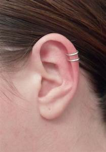 double cartilage piercing | Girlie things | Pinterest