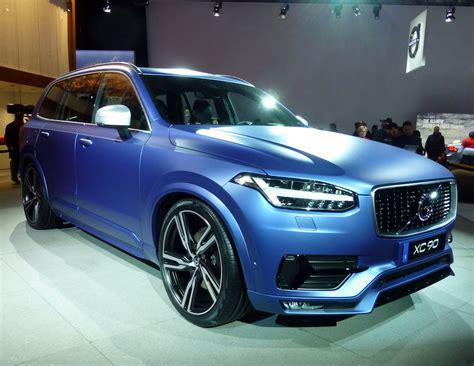 volvo announces   car models electric  hybrid