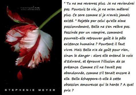Twilight Resume 2 by Tentation Twilight Livre Eternels Twilight