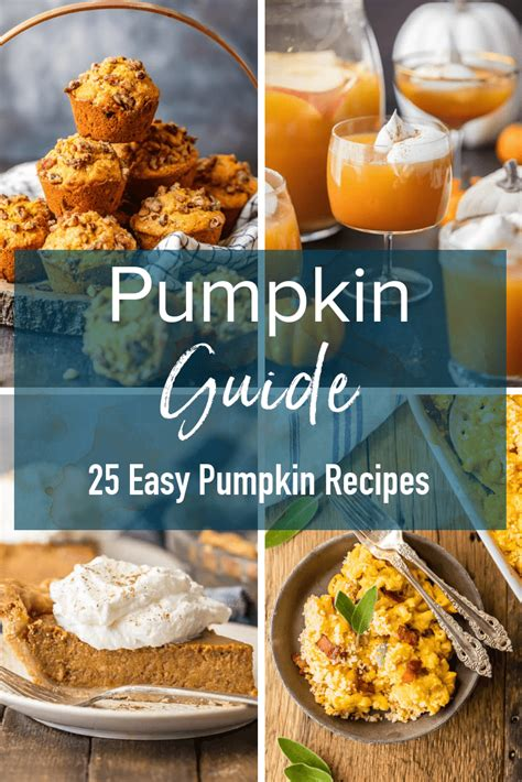 10 Pumpkin Recipes Fall by 25 And Easy Pumpkin Recipes For Fall Cravings Happen
