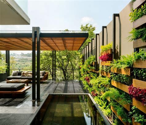 garden house  mexico welcomes nature  contemplation