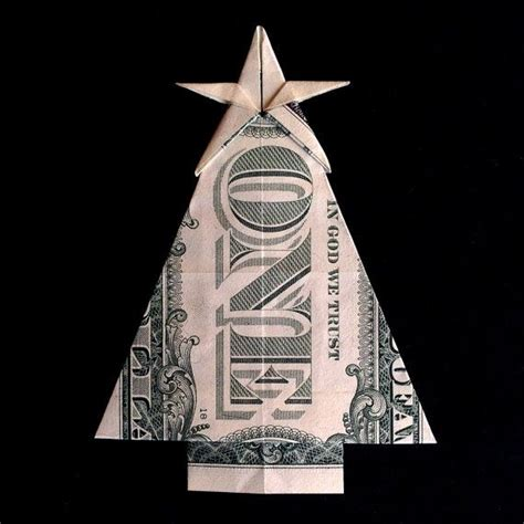 fold dollar into christmas tree best 25 money origami ideas on origami with money folding money and origami with