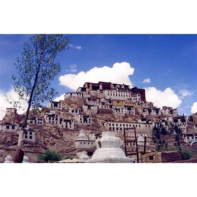 Thiksey Monastery a photo from Jammu and Kashmir North