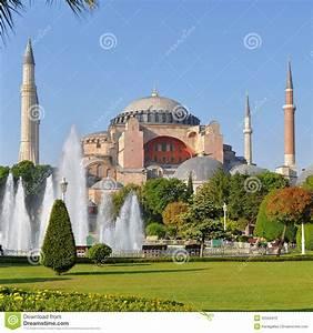 Hagia Sophia in Istanbul stock photo. Image of east ...