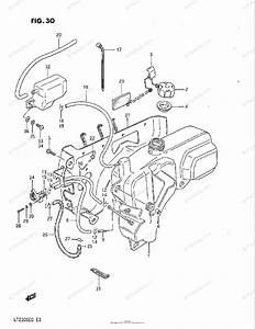 Suzuki Atv 1986 Oem Parts Diagram For Fuel Tank
